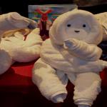 4 návody, ako uterák zložiť do tvaru zvieratka