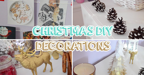 Vyrob si sám: Jednoduché vianočné dekorácie